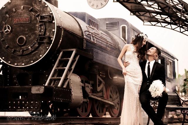 两个人的幸福驿站 青岛圣瓦伦丁蜜月婚纱照
