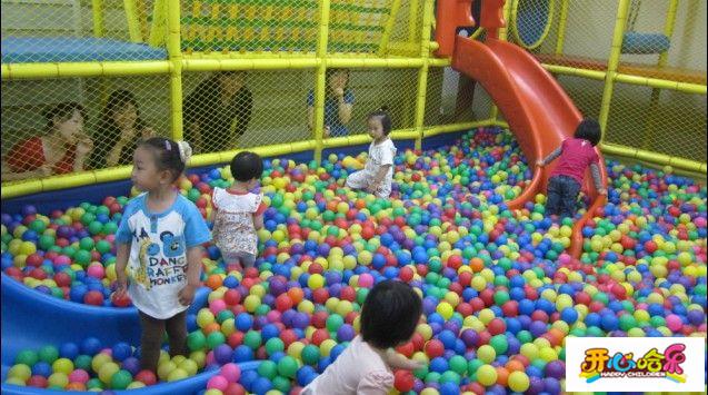"""像综合性的儿童乐园还只有""""开心哈乐""""一"""