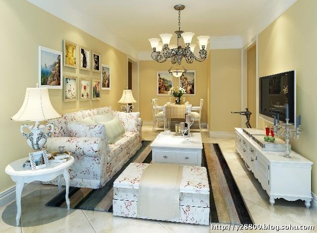 【房屋类型】两室一厅一厨一卫-5万元打造金隅悦和园C户型 78平米两