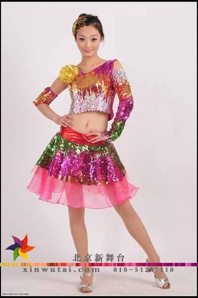 北京出租服装租赁爵士舞服装拉丁服装恰恰舞蹈服装演出服装1391084519