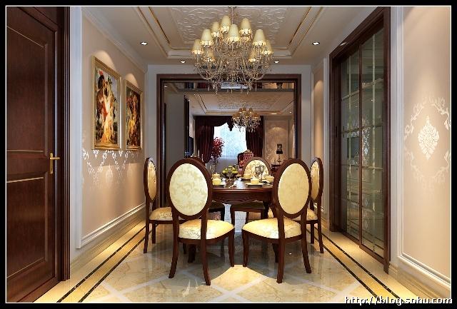 6万打造130平米简欧风格南北通透三室两厅装修案例欣赏